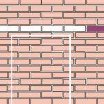 Устройство проема в кирпичной стене