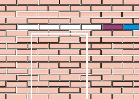 проем в кирпичной стене