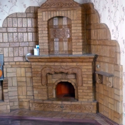 Кирпичный камин для уюта