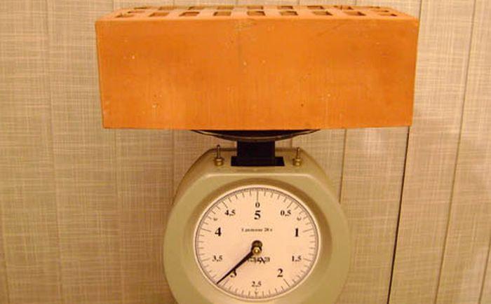вес силикатного кирпича
